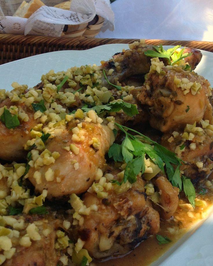 Pollo al lim n con aceitunas recetas pollo y conejo y aves pinterest limon recetas - Pollo al limon isasaweis ...