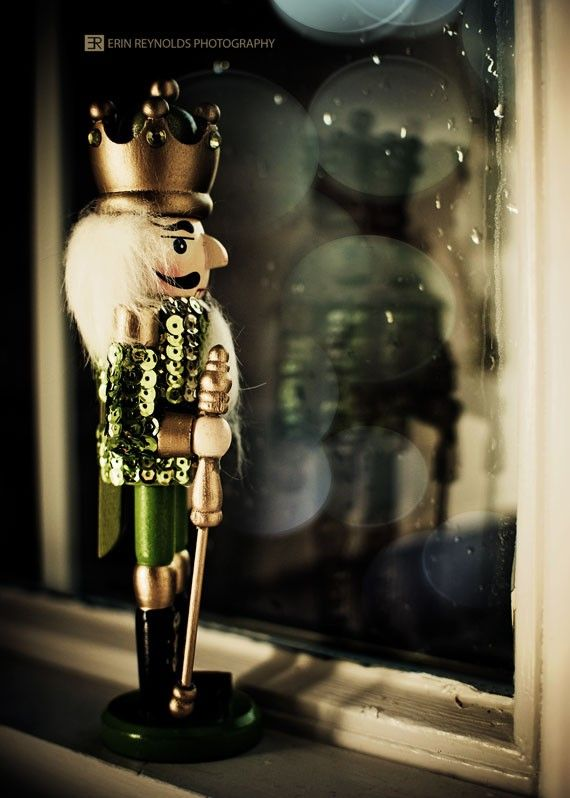 I love this picture because it's like the Nutcracker is trying to find himself again.