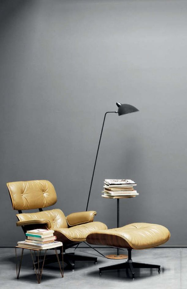 mes caprices belges: decoración , interiorismo y restauración de muebles: READING CORNER: EAMES LUNGE