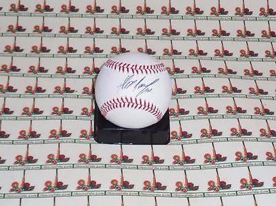 ALEXEI RAMIREZ WHITE SOX Autograph OML Baseball COA Memorabilia Lane & Promotion