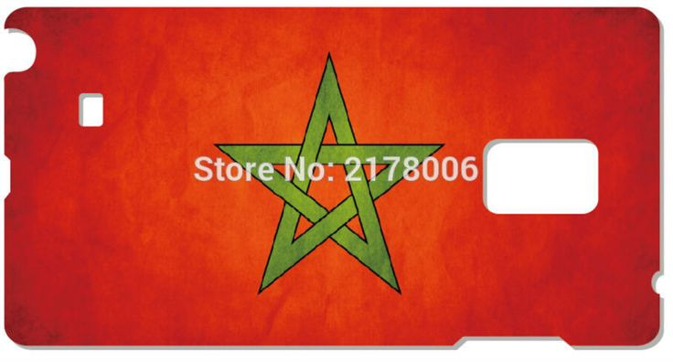 Painting Morocco Flag Cell Phone Cover For Samsung Galaxy Core G350 S5830 S2 S3 S4 S5 Mini S6 S7 Edge Plus Note 2 3 4 5 Case