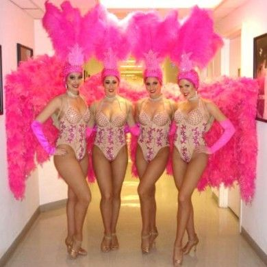 from Leo las vegas showgirls naked