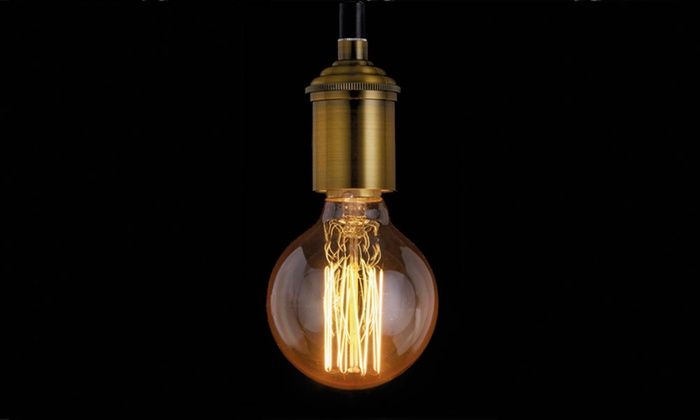 Groupon Goods Global GmbH: Vintage Decorative Edison Filament Light Bulbs in Screw or Bayonet Fitting