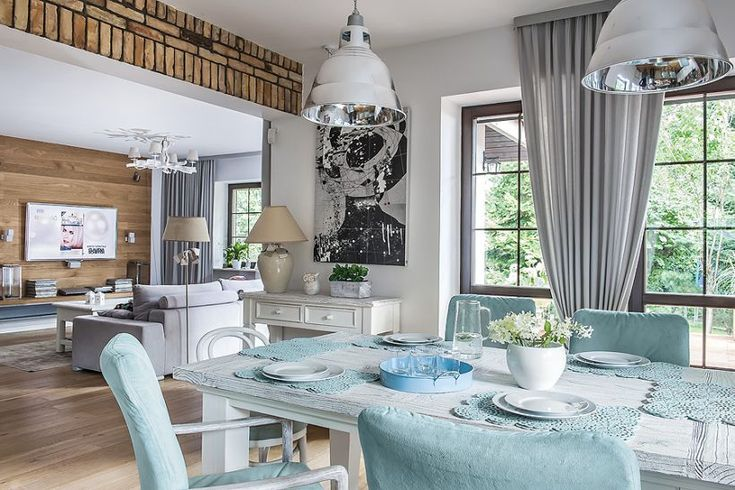 Ocieplony styl skandynawski  fot. Igor Dziedzicki #styl #wnętrza #projekty #domów #dom #mieszkania #trendy #moda #skandynawski #style #wnętrze #dizajn #design #house #scandinavian #simple #blue #home #arthome #decoration #chair #table #window #kitchen #livingroom #saloon #salon #lampy #ekohouse
