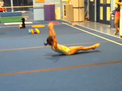 Drills for Giants on Uneven Bars