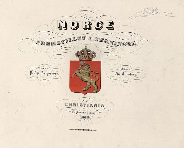 Norge fremstillet i Tegninger - jpg (1277×1024)