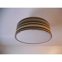 Lámpara Colgante - Tambor. Excelente Calidad - 2 Luces