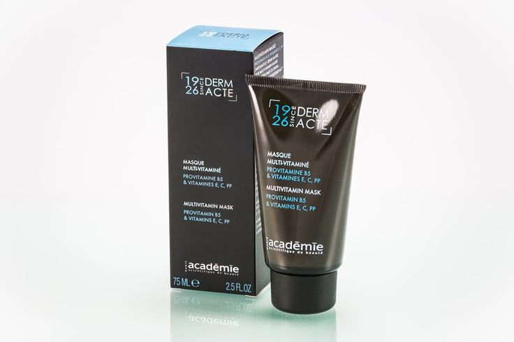 Academie Scientifique MultiVitamin Mask doubles as a night cream for dehydrated or sensitive skin.