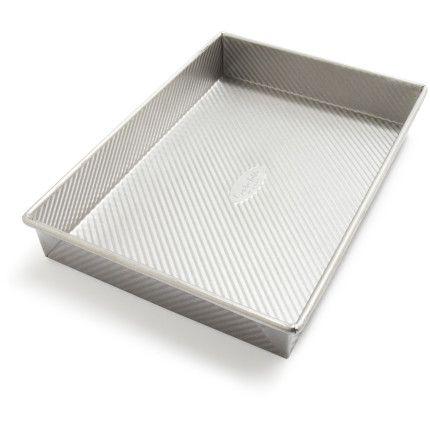 """Sur La Table Platinum Professional Square Cake Pan, 8""""   Sur La Table"""