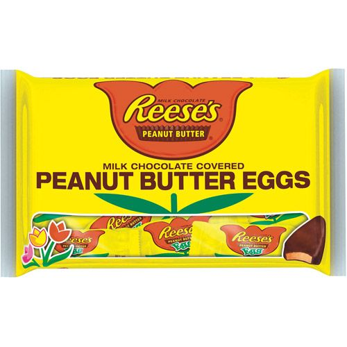 Reeses Easter Snack Size Peanut Butter Eggs 114 Oz 00034000477449