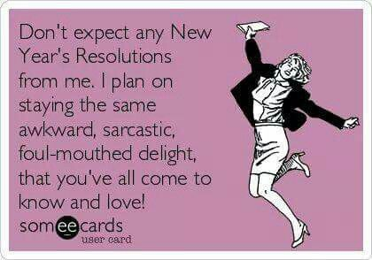 Millions of people make new resolution for up cumming year. But people like me are always same as they were last year. January is the light of hope and December really disappoint those you are filled with over dose of resolutions. Here i'm sharing 30+ Funny new year quotes & sarcastic images just to make you laugh. Don't forget your each and every second is beautiful do enjoy it yourself. Do not get disappointed because you could not achieve something. You might have some that people are…