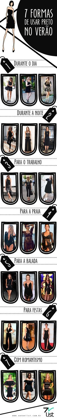 #Summer #Black                                                                                                                                                                                 Mais  Preto no verão!