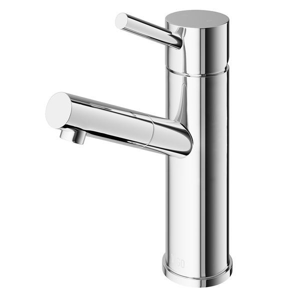 Most single hole bathroom faucet are