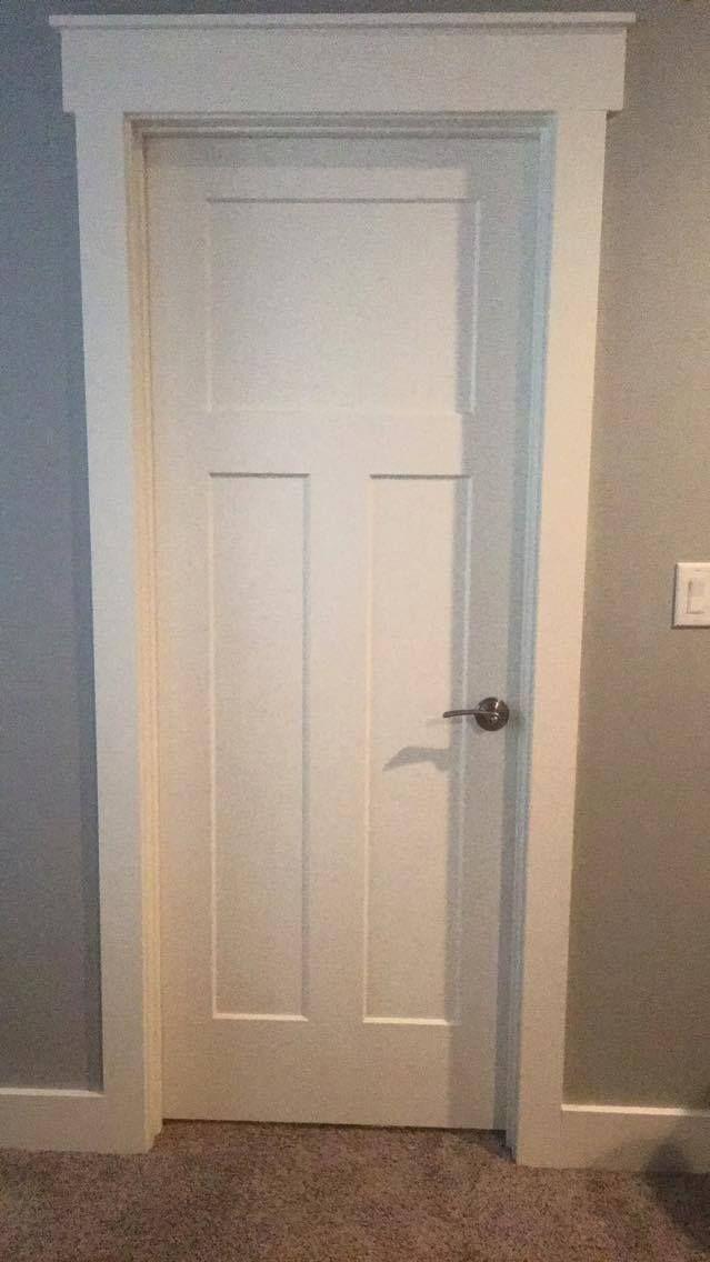 Tammi S Door 1x4 And 1x6 And 1x2 For The Tops Of The Doors