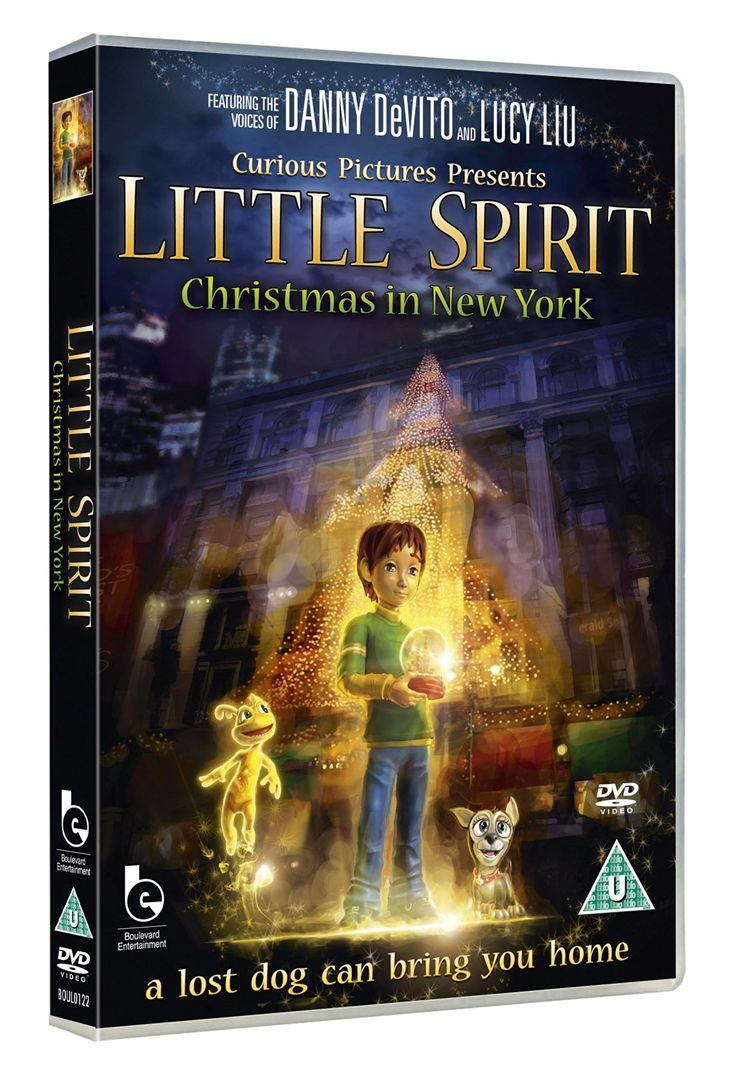 Little Spirit: Christmas In New York [DVD]: Amazon.co.uk: Danny DeVito, Lucy Liu, Freddy Rodriguez: DVD & Blu-ray