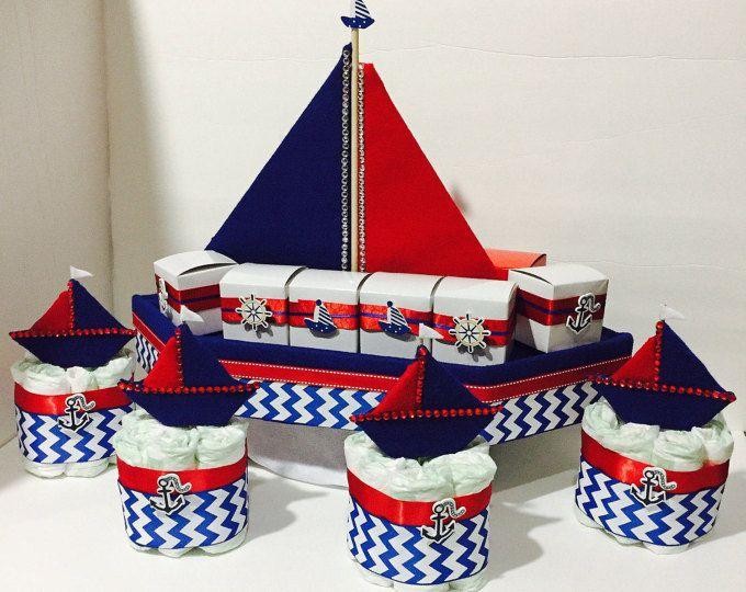 Best 25+ Boat diaper cake ideas on Pinterest | Nautical ...