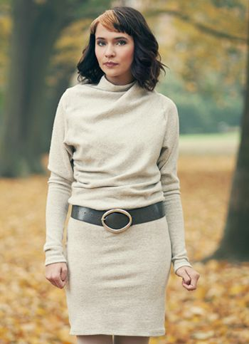 Zimní šaty Rotatine Dámské oděvy