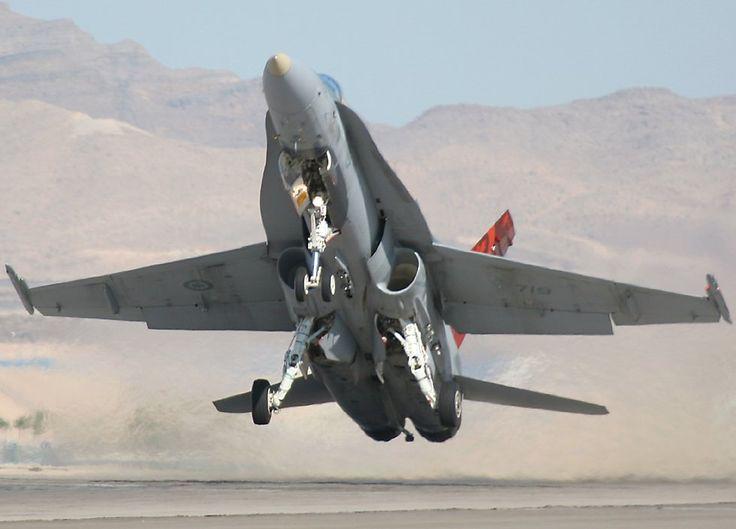 Royal Canadian Air Force F18 Hornet