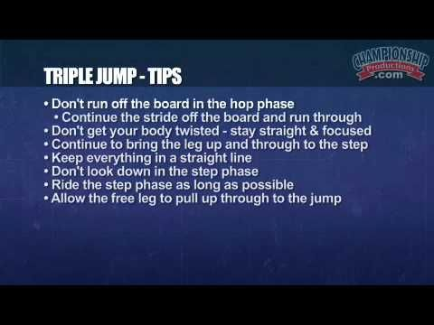 Becoming a Champion: Triple Jump for Girls' Track & Field - http://trackandfielddaily.net/becoming-a-champion-triple-jump-for-girls-track-field/