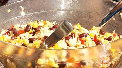 Salade de riz cajun (Geneviève O'Gleman)