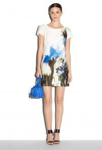 Milly Casual Short dress with a beautiful print