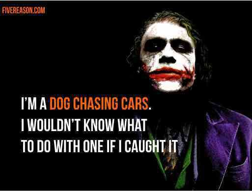 5 reasons to #live like #Joker (The #Dark Knight)  #batman