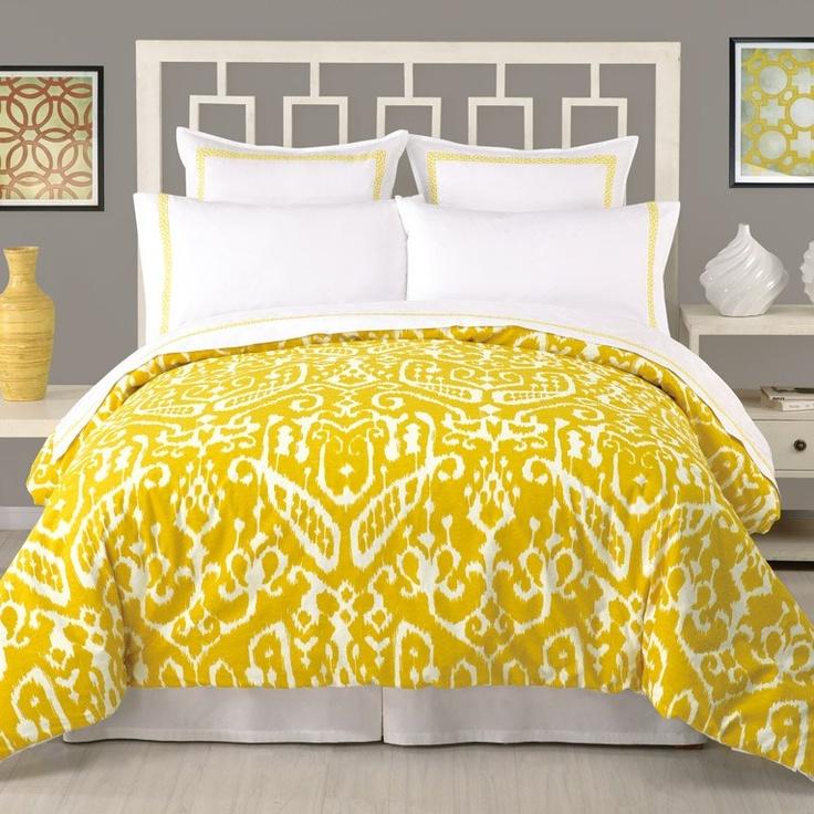 Trina Turk Ikat Comforter 3 Piece Set Zincdoor New