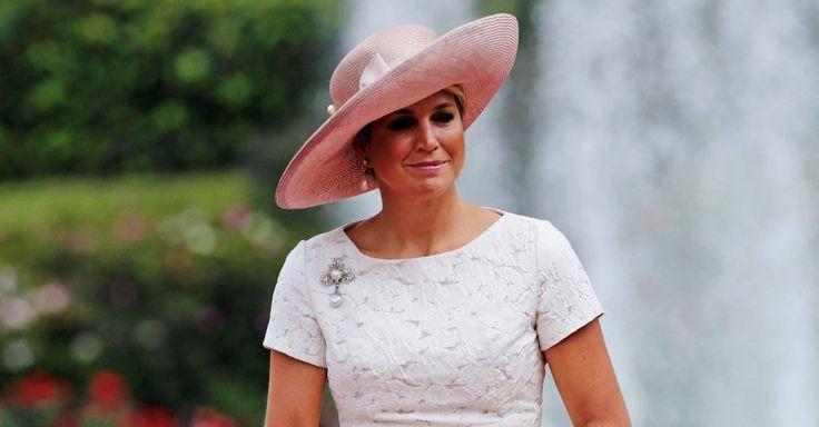 A rainha Máxima, da Holanda, vai à Colômbia e se apaixona pelas rosas