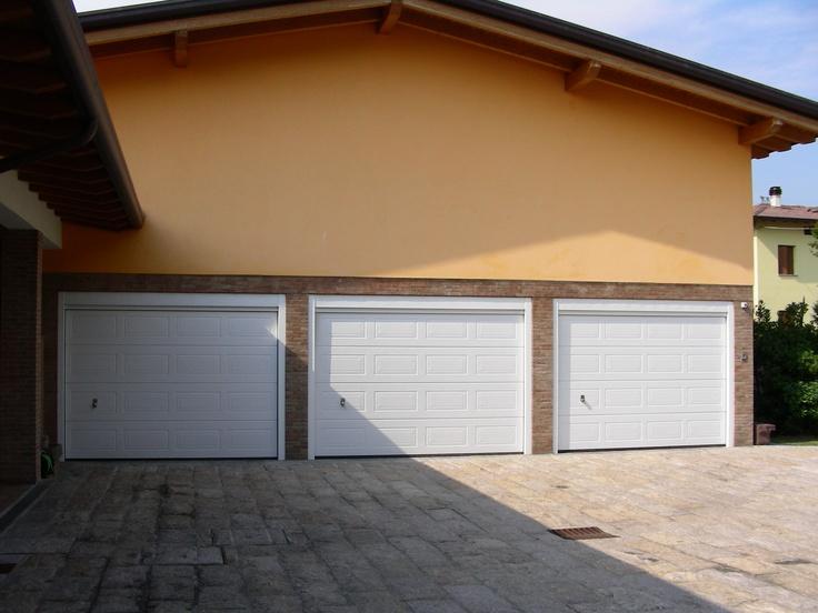 Porte da garage sezionali LPU a cassettoni