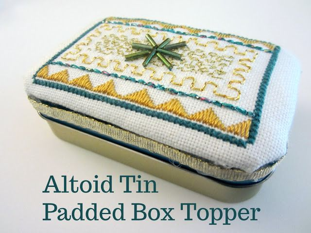 Reviews, Chews & How-Tos: Altoid Tin Padded Box Topper (Tutorial)