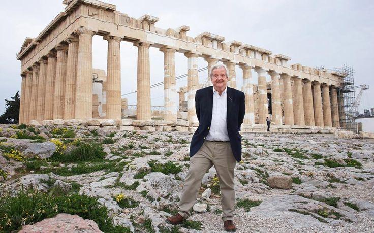 O Γκρέγκορι Ναζ ήρθε στην Ελλάδα και μίλησε για την Αρχαία Ελλάδα.