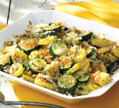 Crispy-Coated Zucchini and Yellow Summer Squash: Summer Squash Repin, Side Dishes, Tarragon Zucchini, Crispy Co Zucchini, Summer Squash Mad, Squashes, Cooking Club, Yummy Stuff, Yellow Summer