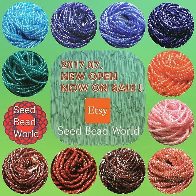 Etsy Shop NEW OPEN!シードビーズを中心に各種ビンテージビーズを取り扱っています。新商品続々追加予定。日本語対応も可能です。お気軽にお問い合わせください! #ビーズ #ハンドメイド #手芸 #シードビーズ #ものづくり #材料 #インポートビーズ #ビンテージ #アンティークビーズ #手作り #seedbeadworld #seedbeads #Etsy #beads  #DIY #beading #handmadesupplies #vintagefashion  #antique #handmadejewelry #costumejewelry