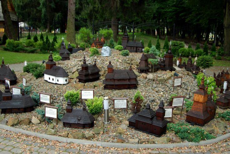 Miniature Temples in Myczkowce