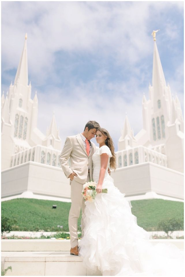 Spectacular Brittany Peter San Diego Temple Wedding Jessie Alexis