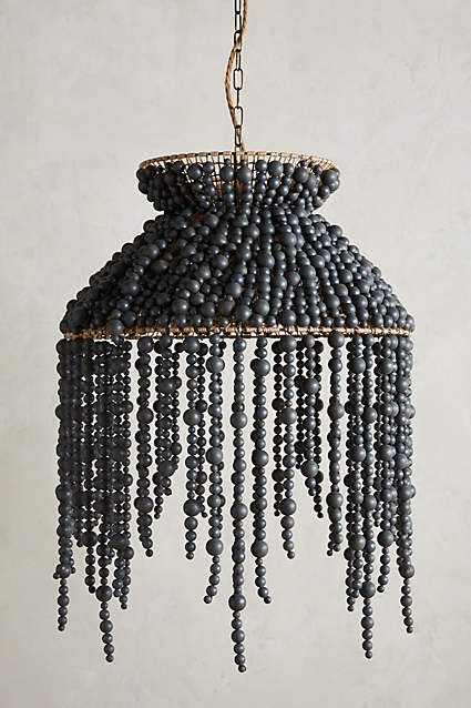 DIY inspiration: Hand-Beaded  Chandelier.                         Gloucestershire Resource Centre http://www.grcltd.org/home-resource-centre/