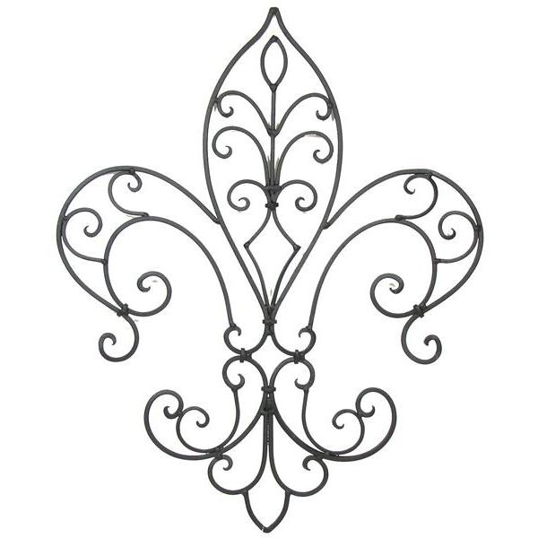 Wrought iron wall decor hobby lobby : Wrought iron pattern easily recreated in filigree or