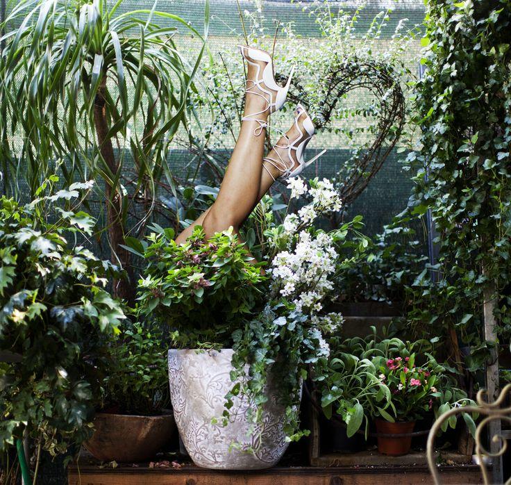 #summercollection #flower #shoes #violavinca