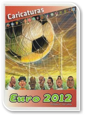 Caricaturas Euro 2012 de Ricardo Galvão