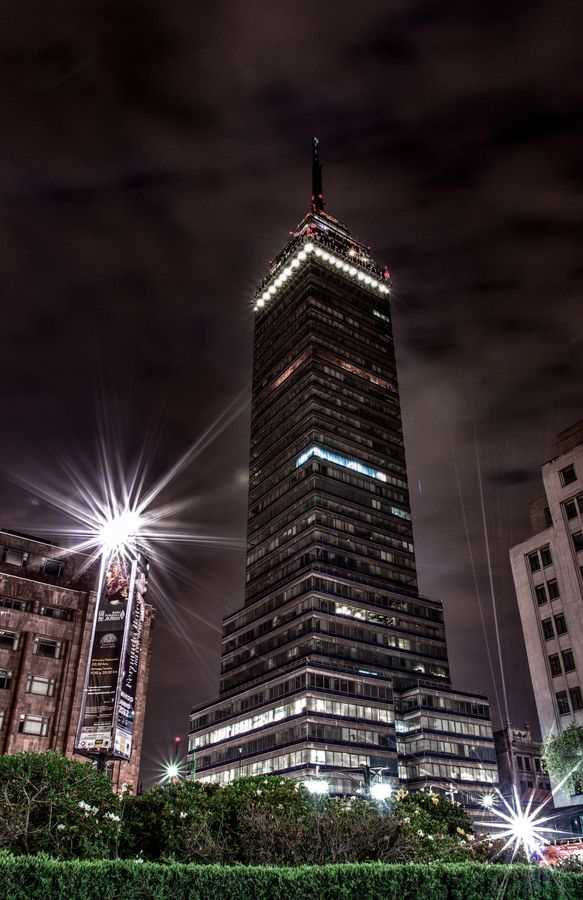Torre Latinoamericana downtown Mexico City