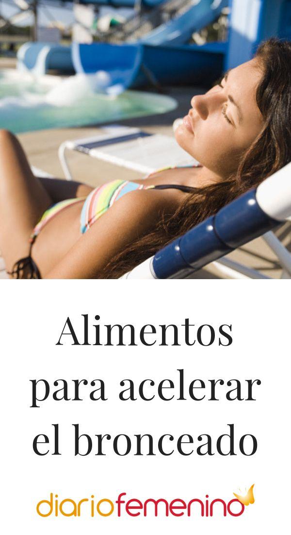 La mejor dieta para ponerte morena más rápido 😎☀️ #verano #summer #sol #sun #dieta #dietasana #DiarioFemenino Sol Sun, Summer, Hair, Beauty, Summer Time, Brown Skin, Sun Tanning, Clean Diet, Diets