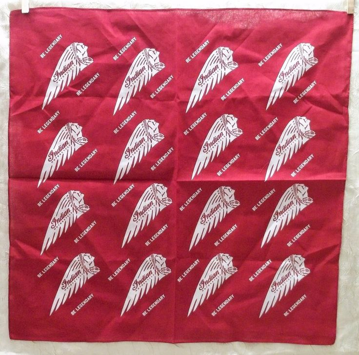Indian Motorcycles Bandana Be Legendary New In Package #Indian