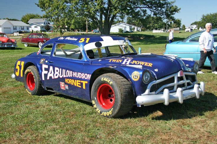536 Best Modified Stock Car Images On Pinterest: The Fabulous Hudson Hornet Rides Again.