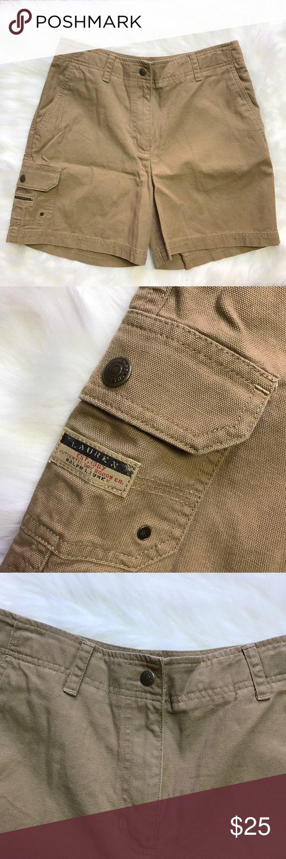 Lauren Ralph Lauren Women's Brown Shorts Sz 8 Great condition. Bundle & Save  Lauren Ralph Lauren Shorts Cargos