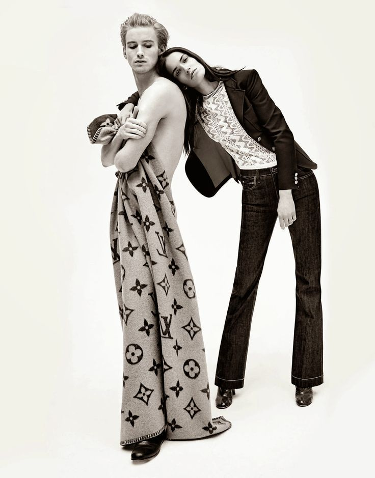 """""""So in Love With You"""" Amanda Walsh and RJ King by Sebastian Faena for Porter Magazine #8"""