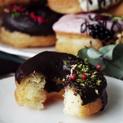Yummy, chocolate-dipped cronuts are simpler to make than you might think.