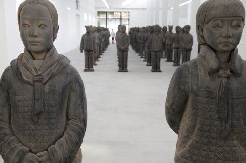Prune Nourry – Terracotta Daughters @ Gallery Magda Danysz (Shangai)
