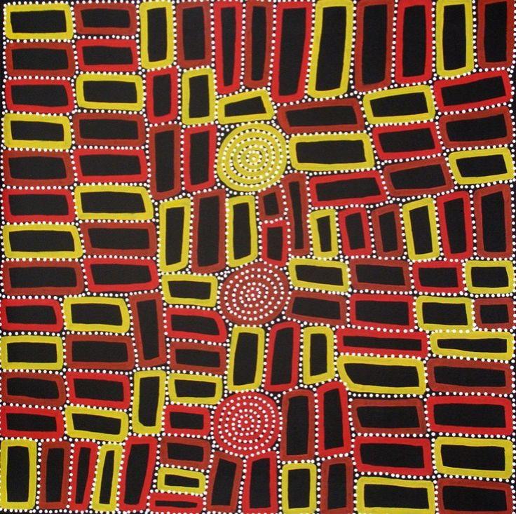 Aboriginal Art, Aboriginal Art for Sale, Dreamtime Art, Indigenous Art | Painting - Tingari - WT12034706 (WALALA TJAPALTJARRI)