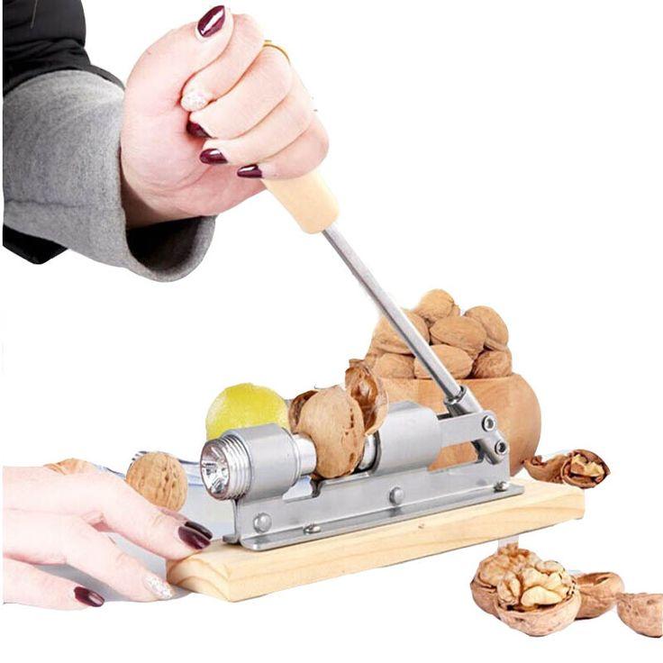 macadamia nut cracker nut bolt mechanical sheller walnut nutcracker nut cracker fast Opener Kitchen Tools fruits and vegetables