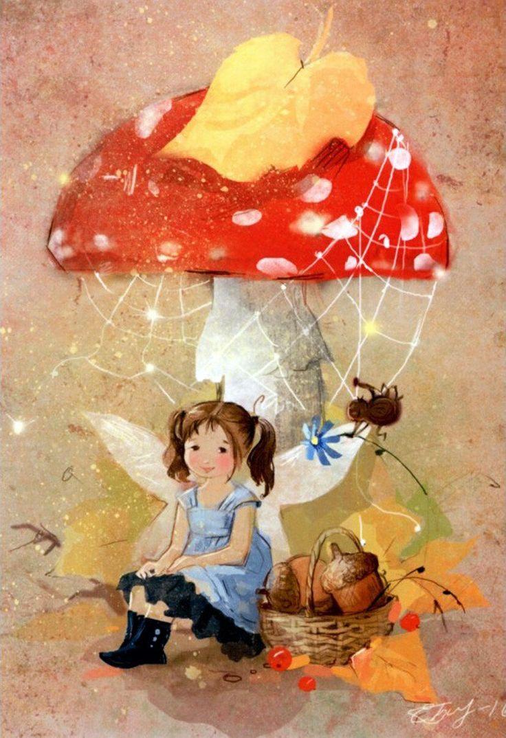 Картинки детских иллюстраторов фея